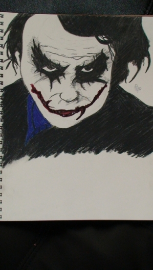 Heath Ledger by laladrawyoursong